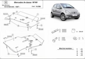 Scut motor  Mercedes A-Classe WI68 1997-2004