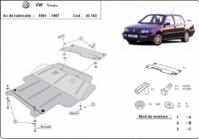 Scut motor  Volkswagen Vento dupa 1991