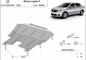Scut motor  Dacia Logan, motorizare 1.2,1.4,1.5 Tdci, fabricat dupã 2012